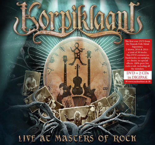 Live at Masters of Rock DVD + 2CD-Digi