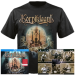 Live at Masters of Rock Blu-ray + 2CD-Digi, T-shirt and signed card bundle