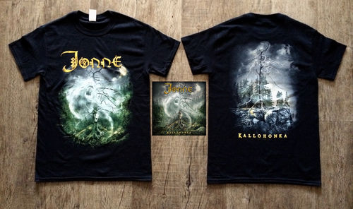 Kallohonka CD and T-shirt bundle