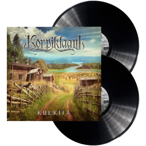 Kulkija black double vinyl
