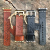 Leather Folk & Metal iWatch strap